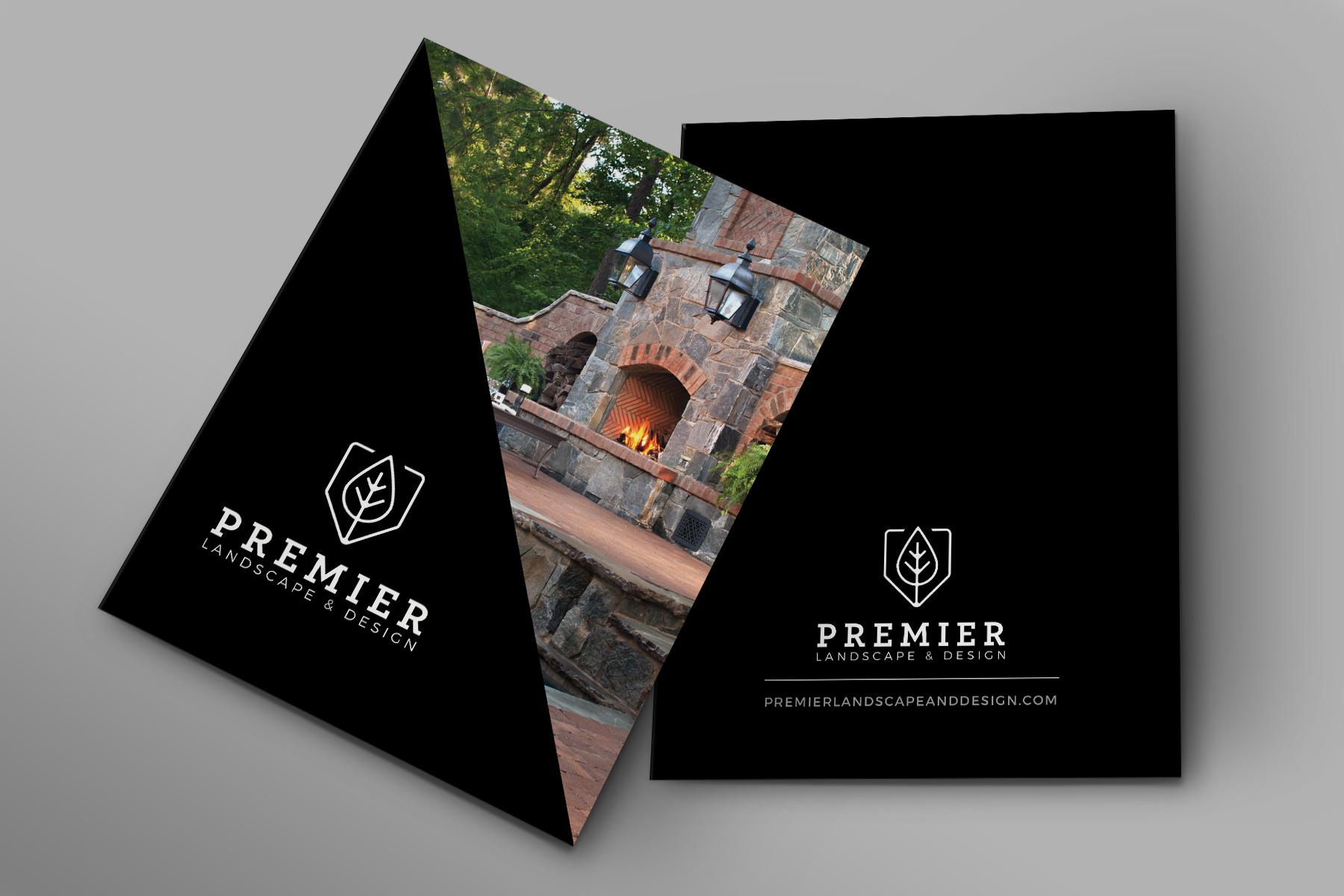 Premier Landscape & Design - Presentation Folder Design