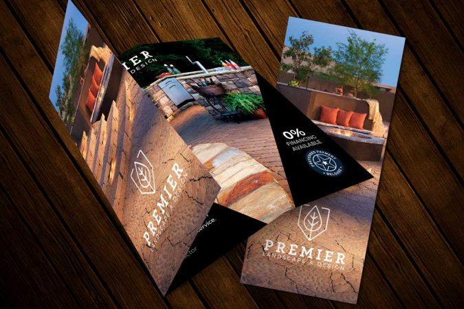 Premier Landscape & Design - Tr-Fold Brochure