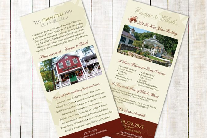 Green Tree Inn - Rack Card Design