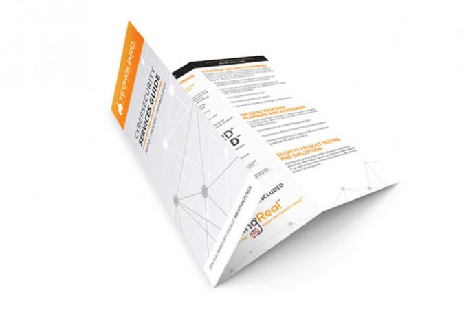 TechGuard Security - Tri-Fold Design