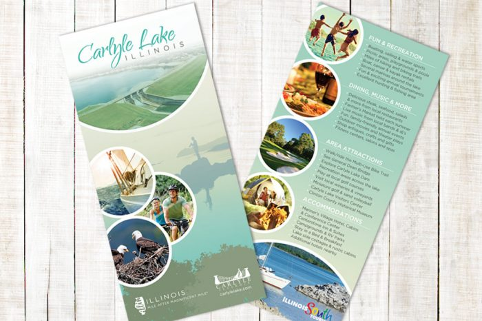 Carlyle Lake - Rack Card Design