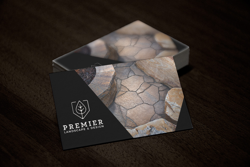Premier Landscape & Design - Business Card Design